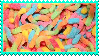 Gummy Worms Stamp by Weapons-Expert-Cool