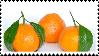 Mandarin Orange Stamp by Weapons-Expert-Cool