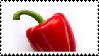 Red Paprika Stamp
