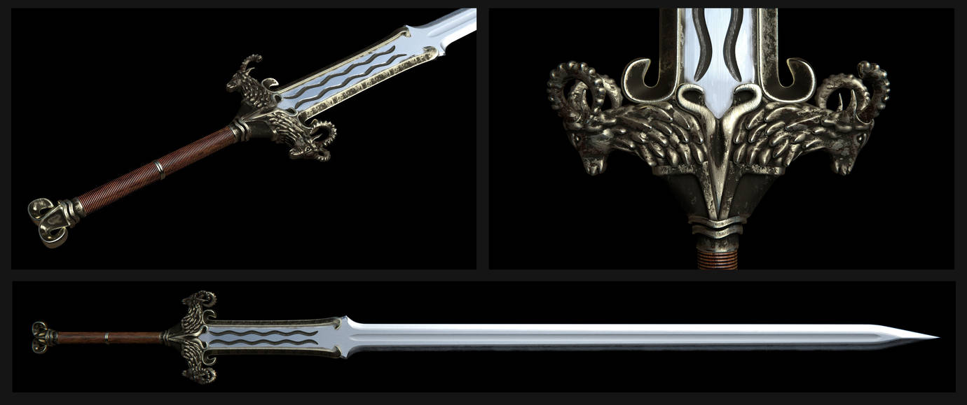 The Ram Sword by Nikola3D