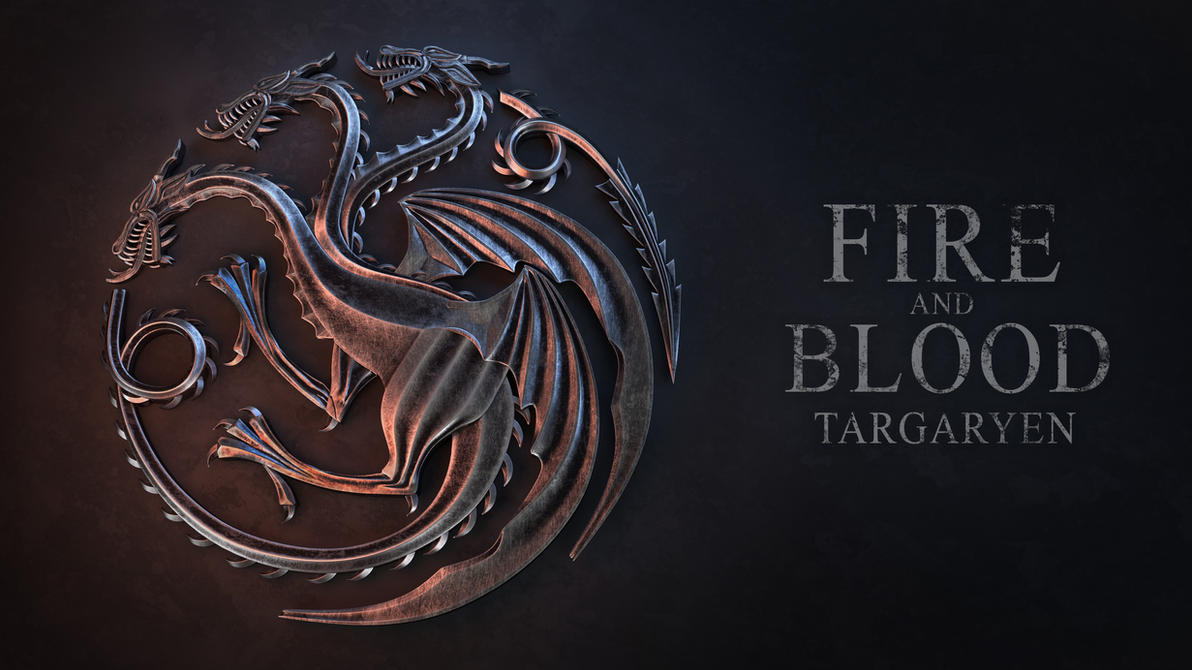 Awesome House Targaryen Sigil By Nikola3D ...