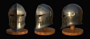 Medieval helmet