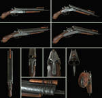 Zombie Hunter Sawed-off Shotgun
