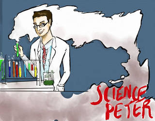 Commission, 'Science Peter' by TheJung