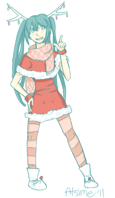Christmas Outfit by Atsime