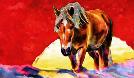 Digital Painting: Argo's Rising