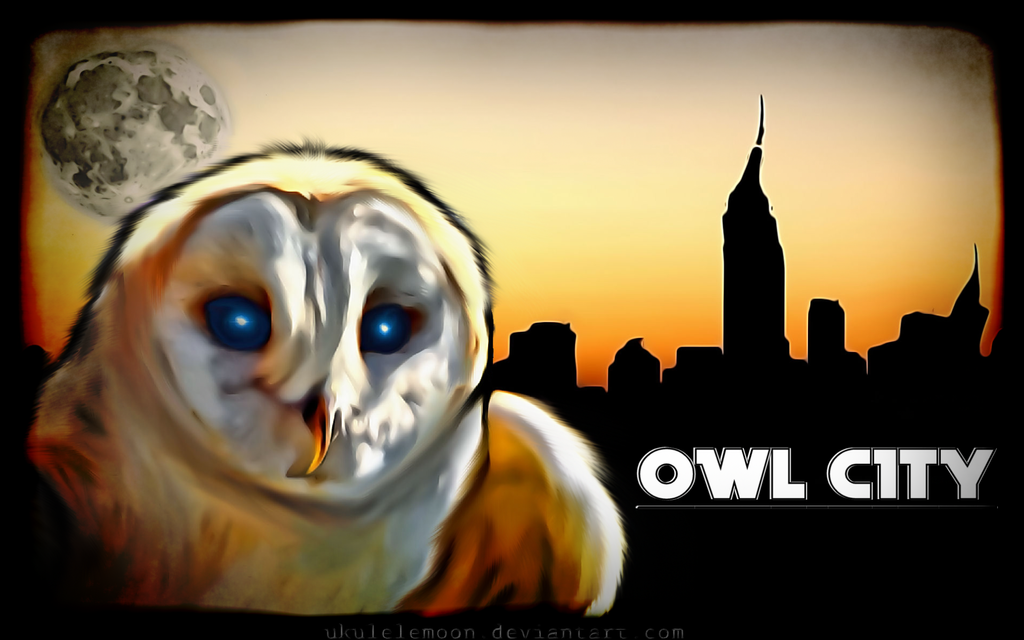 Digital Painting: Owl City by UkuleleMoon on DeviantArt