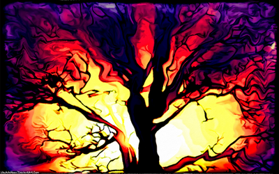 Digital Painting: The Terror Tree