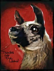 Digital Painting: Llamas, Gotta Catch 'Em All! by UkuleleMoon