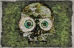 Digital Painting: Map of Skulls