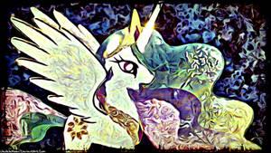 Fan Artwork: Celestia's Dawn