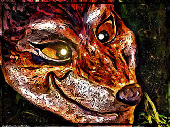 Digital Painting: The Masks We Wear