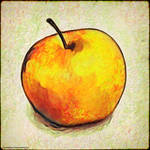 Digital Painting: An Apple a Day