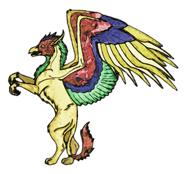 Digital Painting: The Gryphon