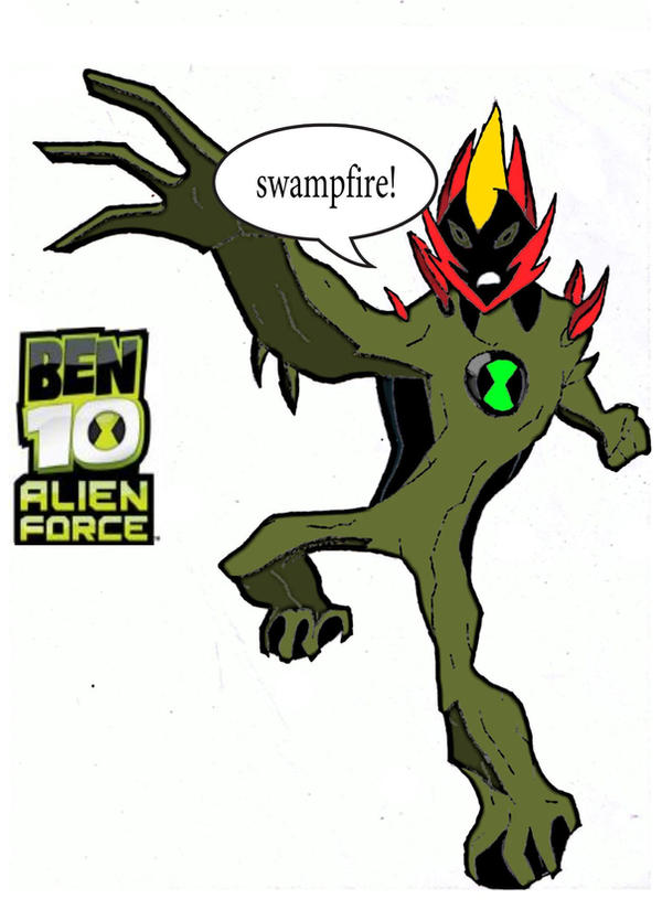 ben 10 alien force swampfire by watermummy7 on DeviantArt