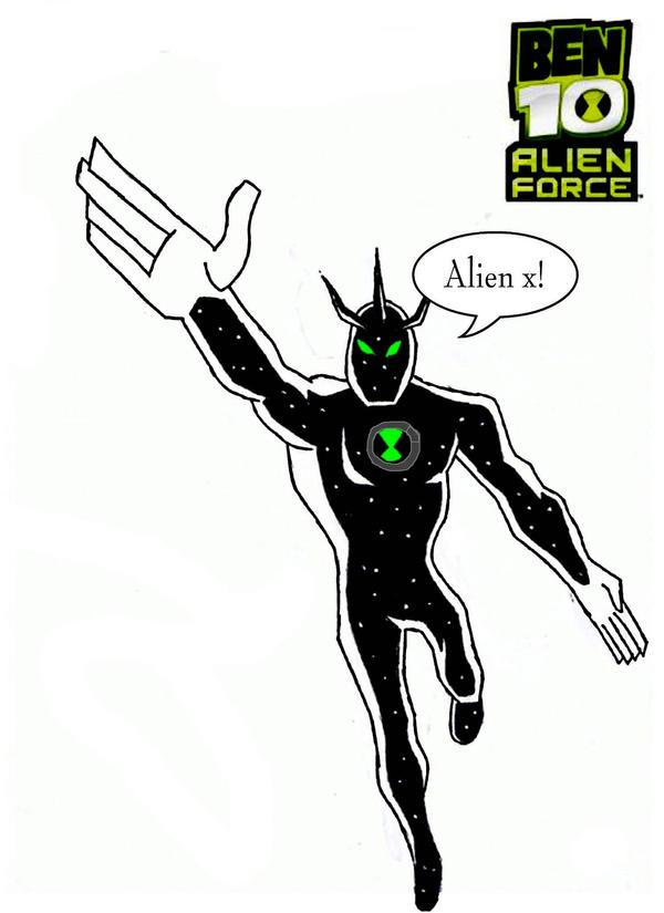 ben 10 alien force alien x by watermummy7 on DeviantArt