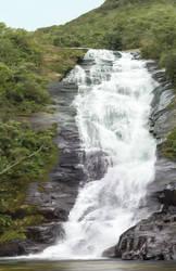 Waterfall Painting by Konchiroichi
