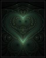 Malachite Heart by plangkye