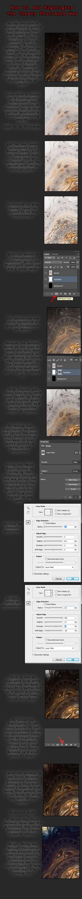 Postwork Tutorial: Highlighting Dark Areas (PS) by plangkye