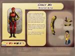 Character Profile: Grace Wu by plangkye