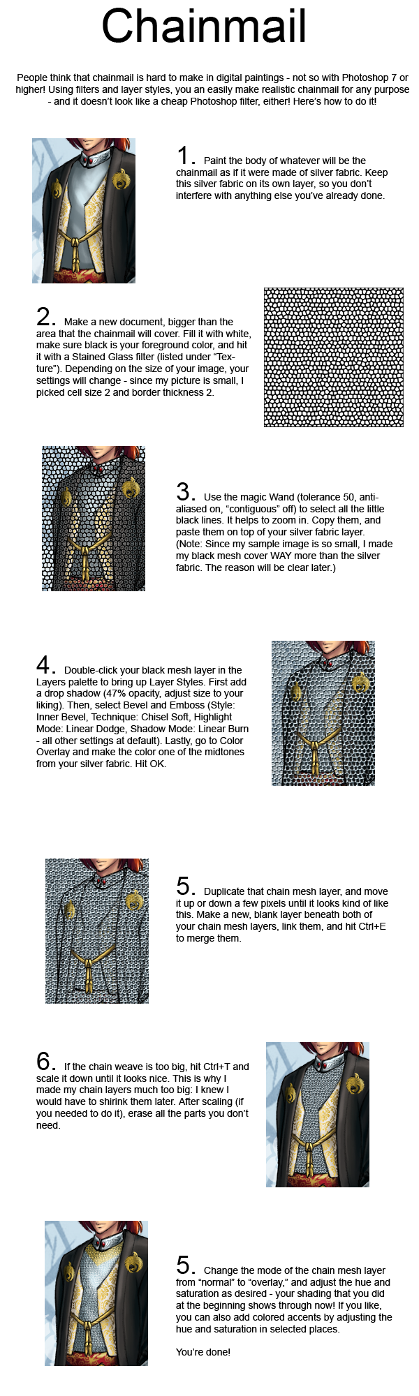 Chainmail in Photoshop by plangkye