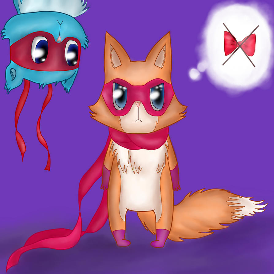 le jeu sans fin.... - Page 14 _first_chibi_furry_style__foxy_and_splendid_by_inexpressif-d5x6c6k
