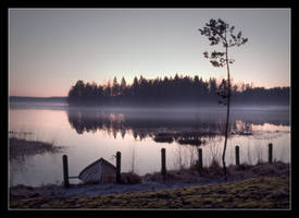 Silence of an evening by eswendel