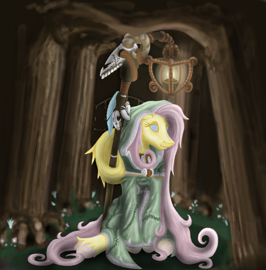 Arcana MLP- The Hermit - IX by Madness-with-Reason