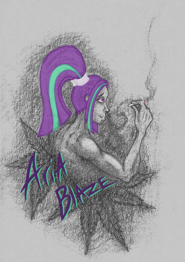 Aria Blaze 420 by Madness-with-Reason