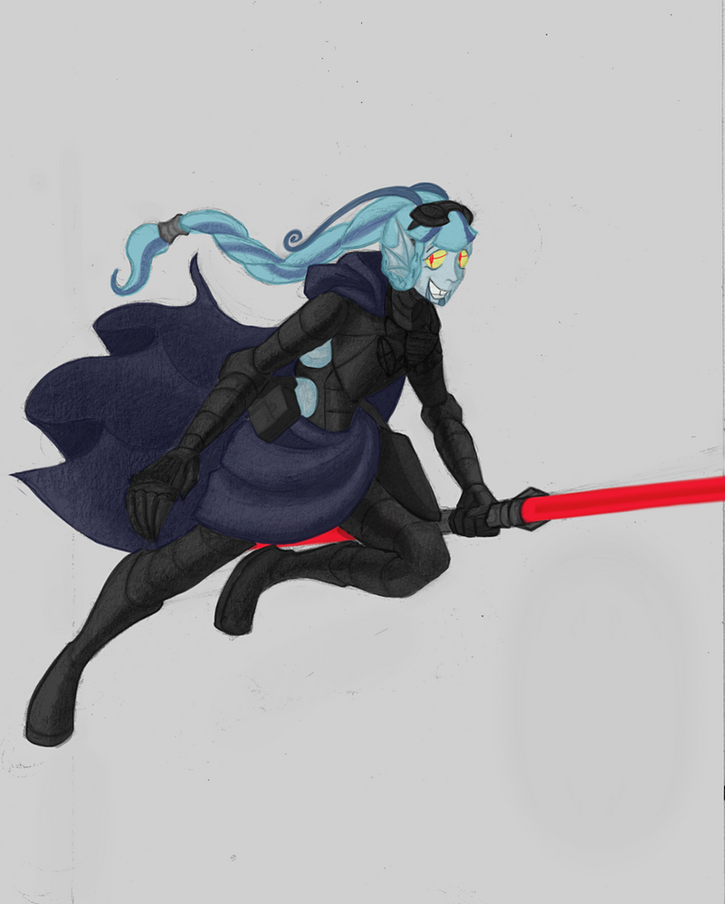 Sith Assassin - Sonata by Madness-with-Reason