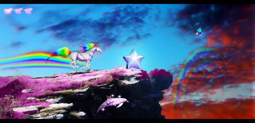 Robot Unicorn Attack by DarkHorses90