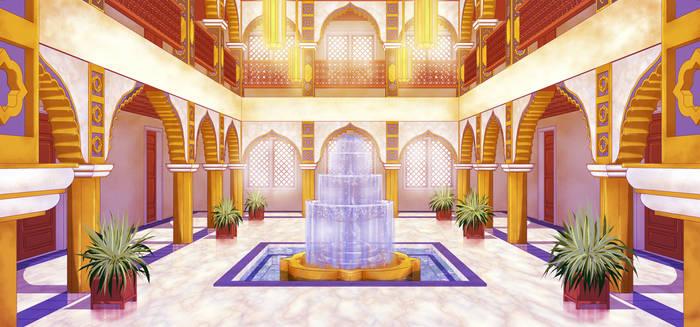 Twin Crowns Foyer