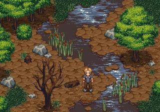 Detailed RPG forest mockup