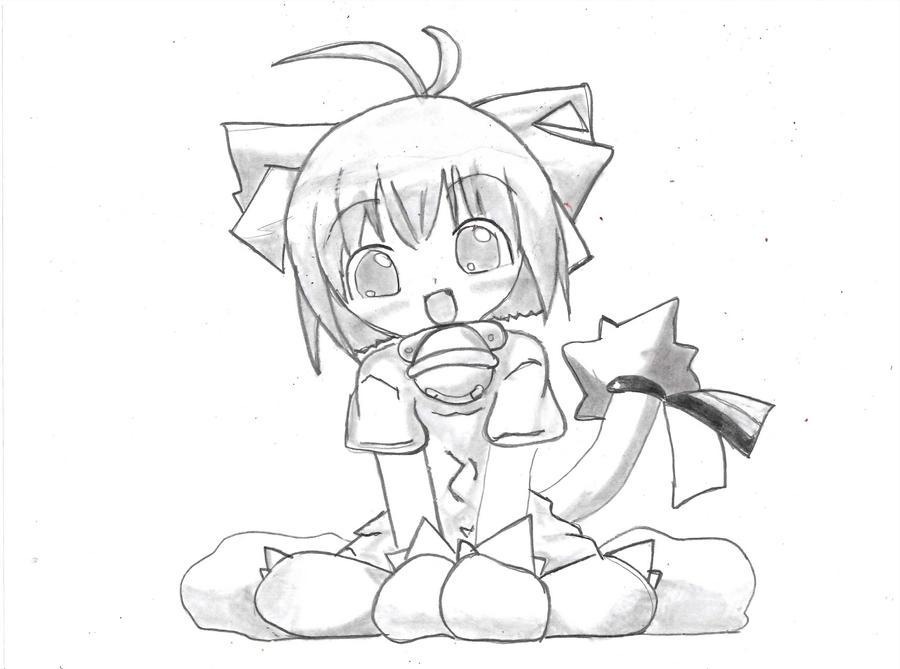 cute anime girl by lalaesha on DeviantArt