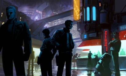 Adventure on MoonBase SeaMine! By Jedi-Art-Trick by BaronNeutron