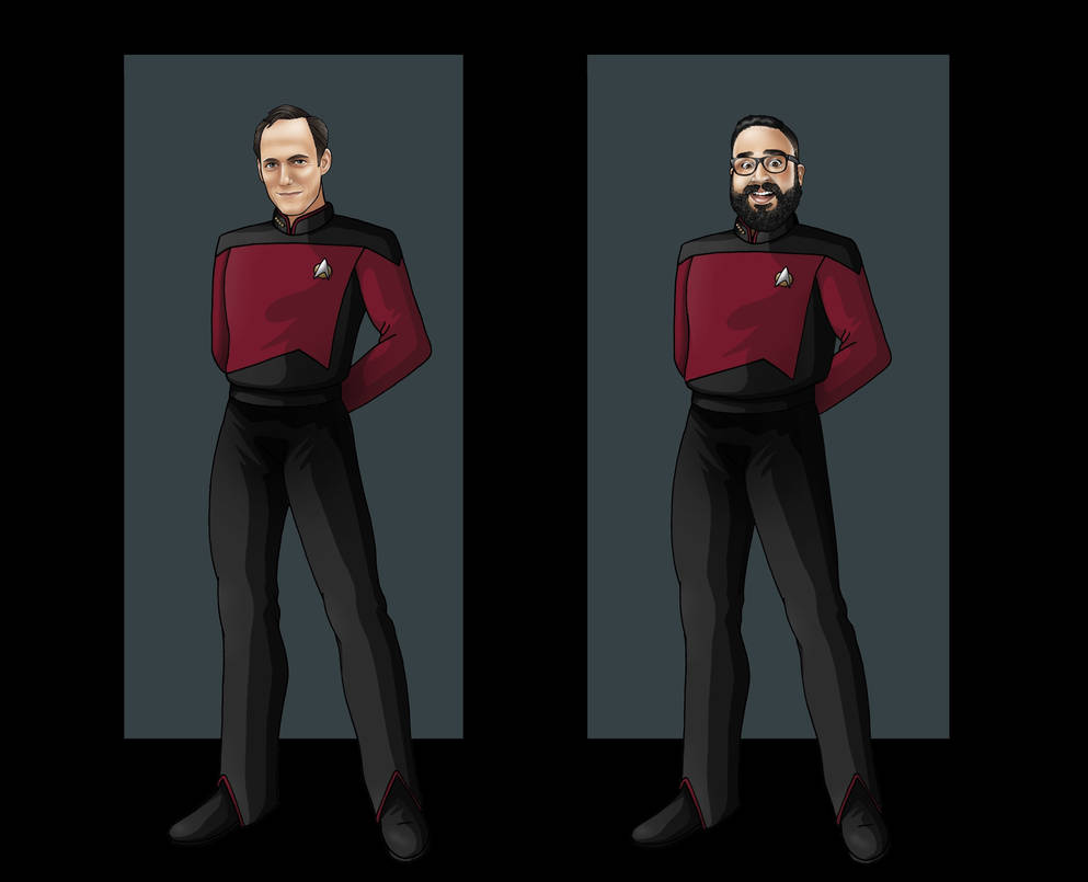 Captains of the USS TNC by BaronNeutron