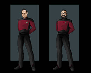 Captains of the USS TNC