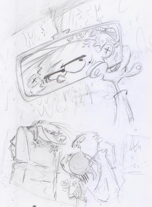 Car Sketchy - Eds by Raveneesimo