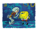 Spongebob Vs. Squidward