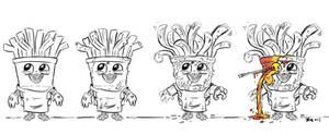Evolution Of Frybo--SPOILER! by Raveneesimo