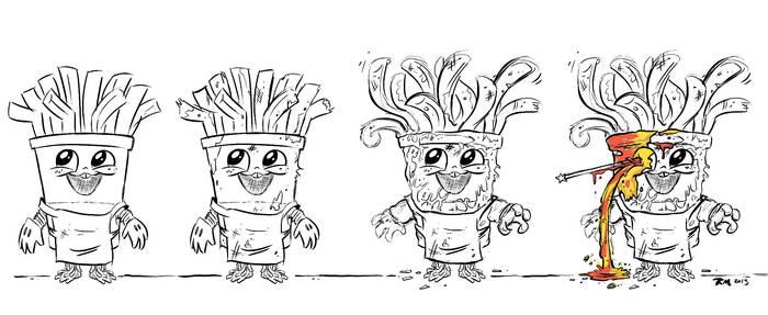 Evolution Of Frybo--SPOILER!