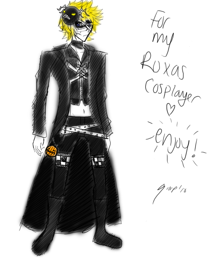 Halloween Town Roxas by Sora-in-my-pants on DeviantArt