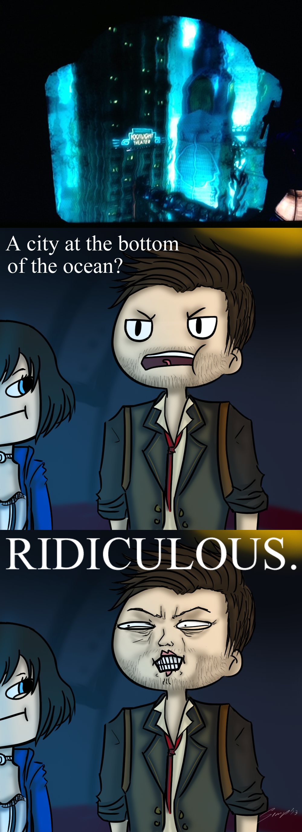 Bioshock Infinite -Spoiler?- by Sora-in-my-pants
