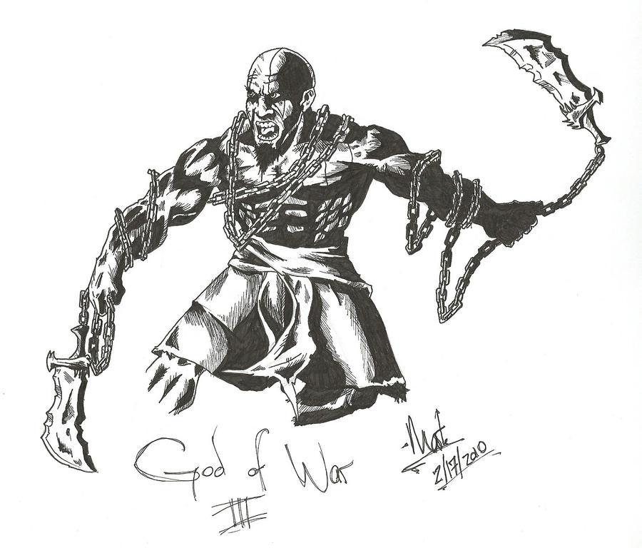 Kratos - God of War III by mawkus