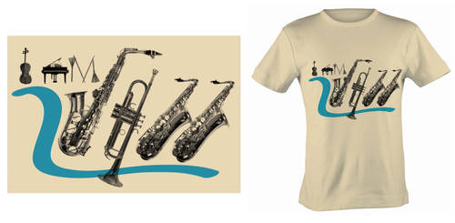 i am jazz tee