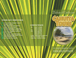 brochure cahuita tours tiro