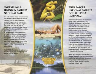 brochure cahuita tours retiro by mrbobcr