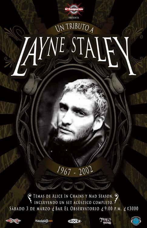 Layne Staley tribute gig poste by mrbobcr