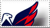 Washington Capitals Stamp by Skokut