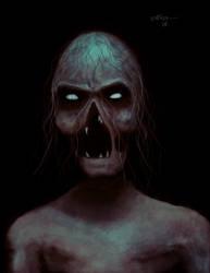 Dark Portrait by robbinblind